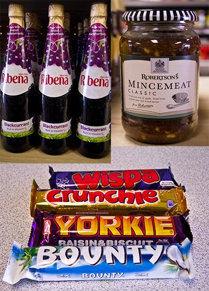 some British goods