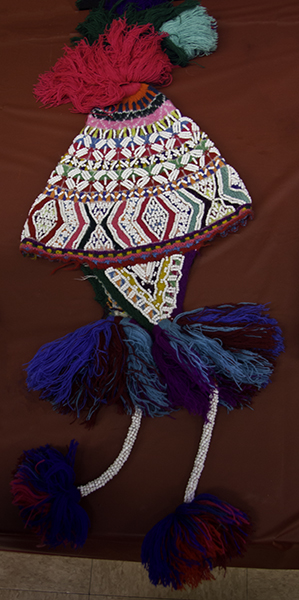 hat made by member of AZ Desert Weavers & Spinners Guild
