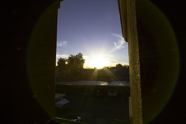 Arizona lens flare