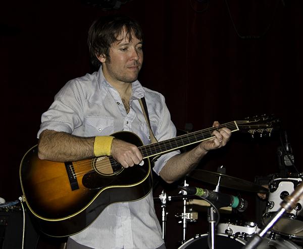 Nat on guitar