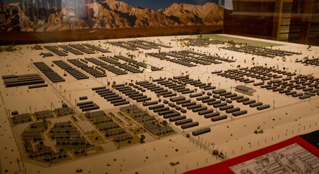 model of Manzanar