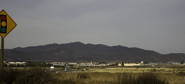 mountains near the 905