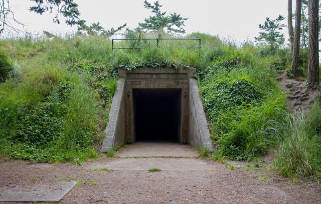 Battery 248 at Ebey's Fort State Park