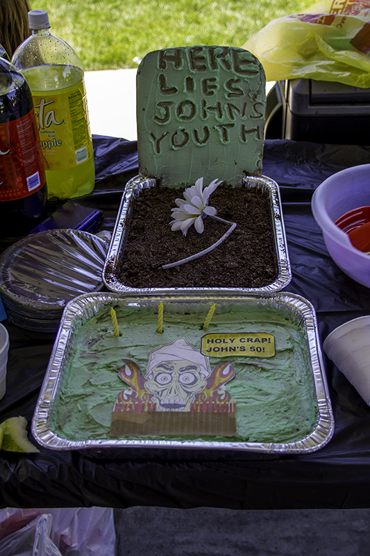 John's birthday brownies