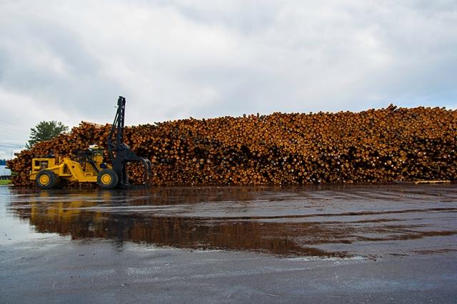 lumber yard in Longview