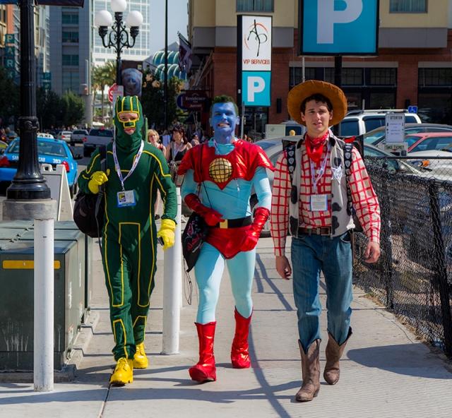 Hal Jordan, Captain Planet, and Woody