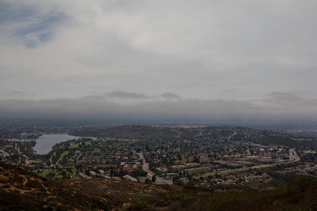 view from Cowles Mountain