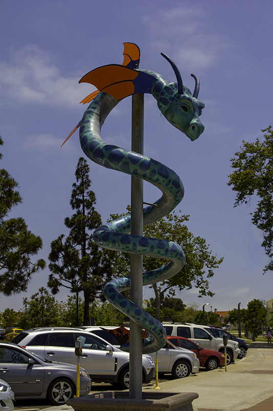 dragon protecting the harbor