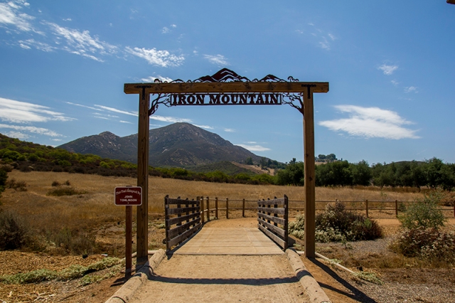 Iron Mountain trailhead