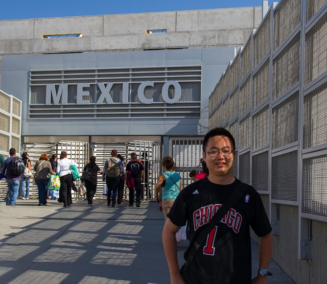 Jack in front of Mexico