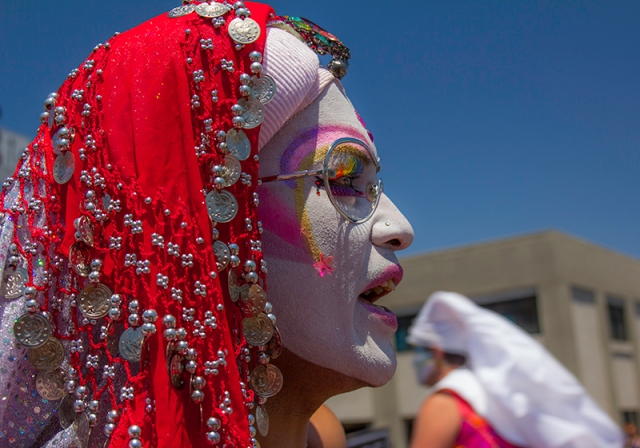 one of the Sisters of Perpetual Indulgence