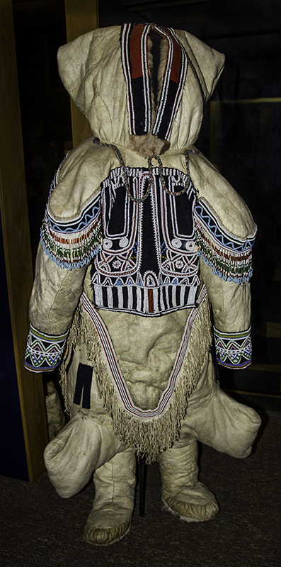 amautik - traditional Inuit woman's parka