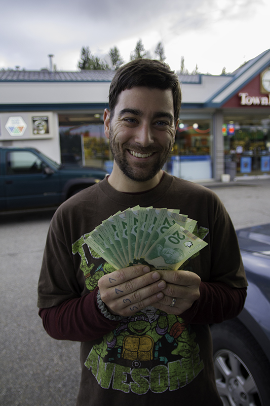 Caleb with Canadian 20s - Frontier Series