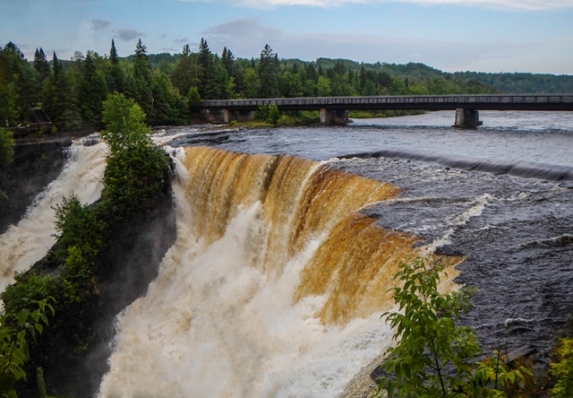 Kakabeka Falls - by Caleb