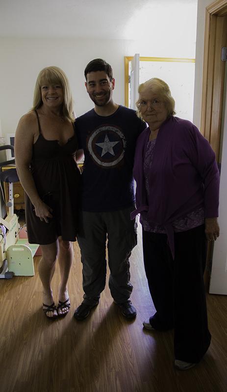 Aunt Jamie, Caleb, Grandma Kitty