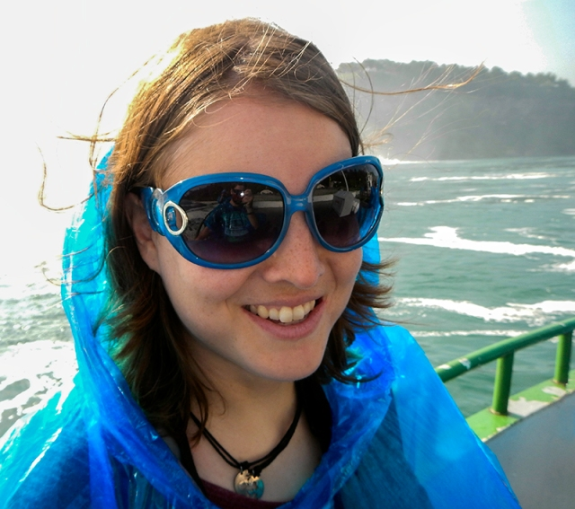 onboard the Maid of the Mist