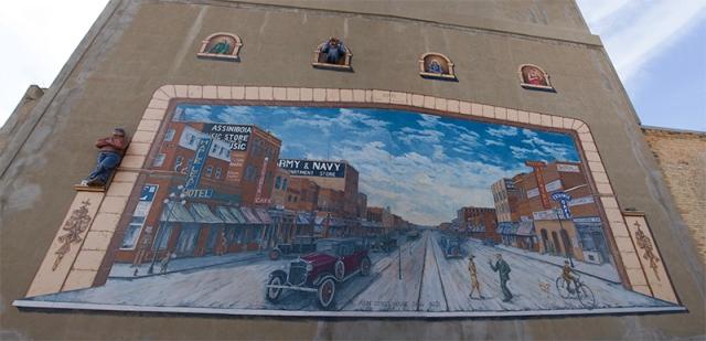 Cruising Main Street by Grant McLaughlin