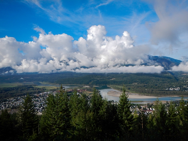 view from Nels Nelson trail - by Caleb
