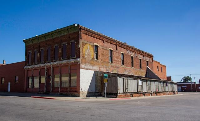 small town, Nebraska