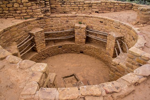 looking in a kiva