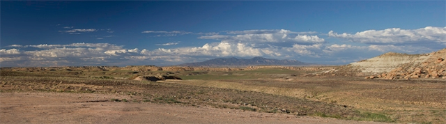 panorama at Four Corners