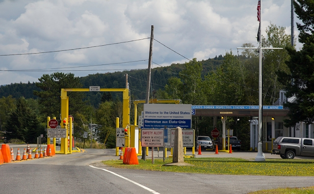 U.S. Border Inspection Station - Coburn Gore, Maine