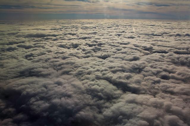 clouds over Georgia