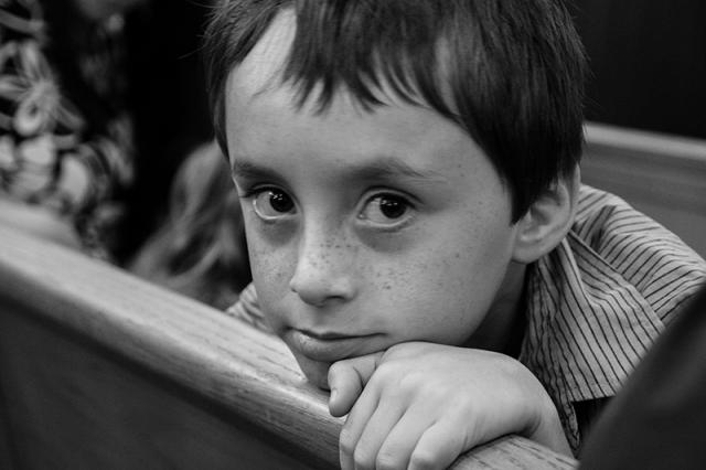 Wyatt - eight years old