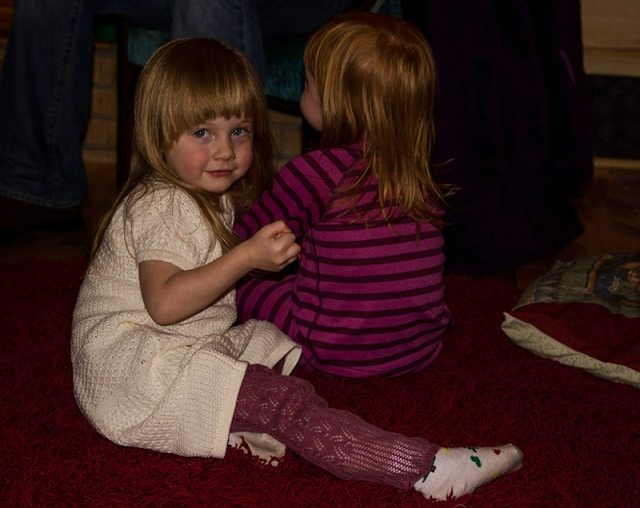 Lyra and Emma - 3 year olds