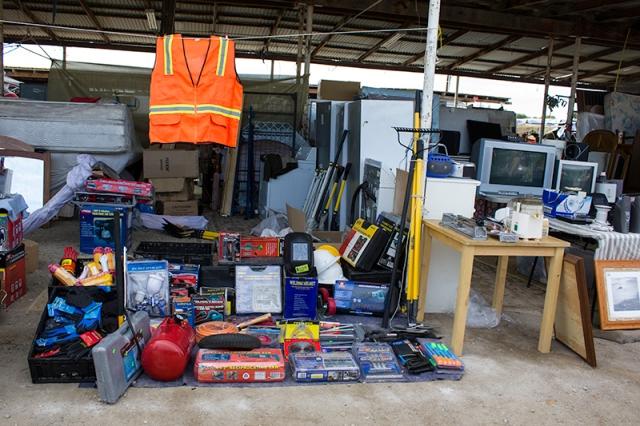 tools for sale at Calexico Flea Market