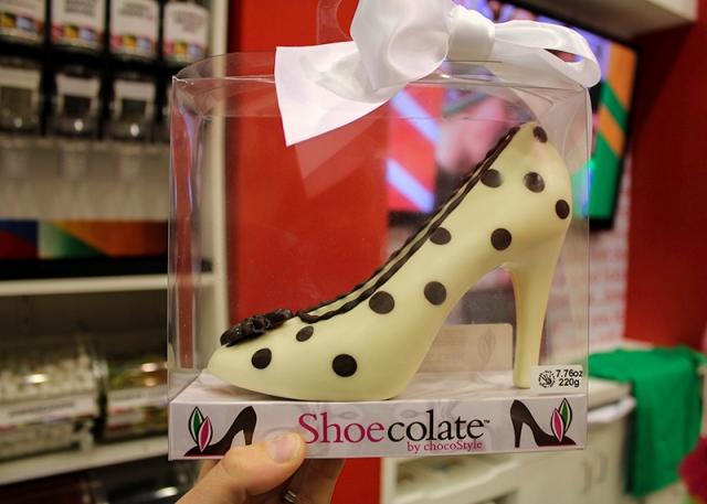 chocolate heel in LICK
