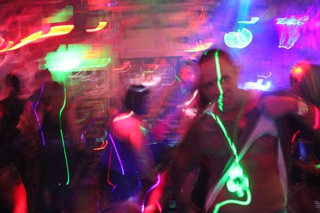 dancing in Carlos' N Charlie's