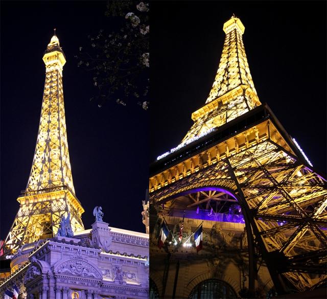 half scale Eiffel Tower replica