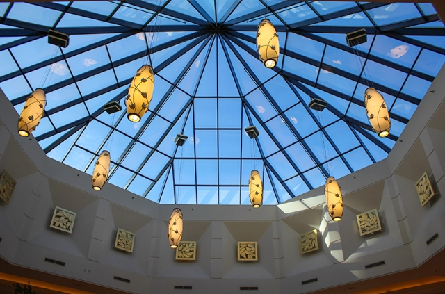 skylight in Mandalay Bay