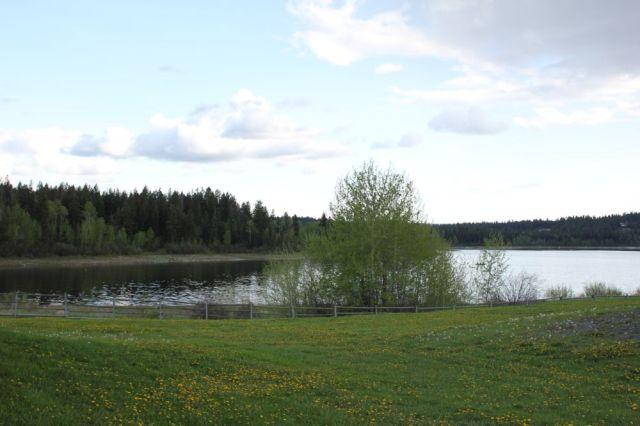 108 Mile House Heritage lake