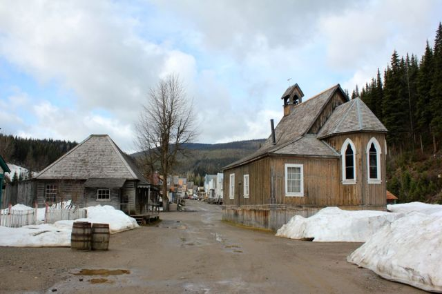church in Barkerville