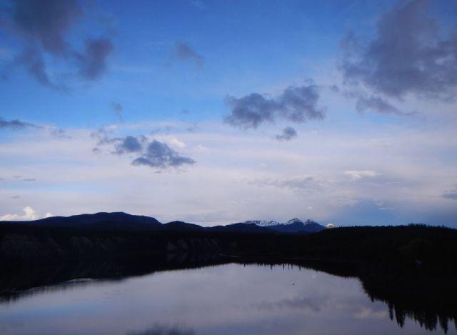 Watson Lake - by Caleb