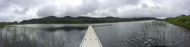 panorama of Lake Lytle