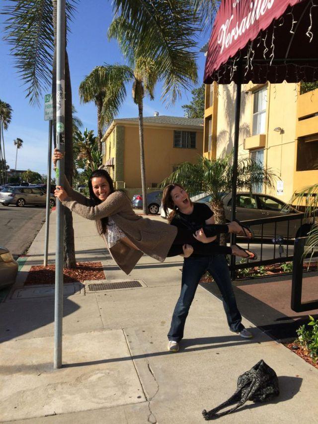 Betty and Amanda in Coronado