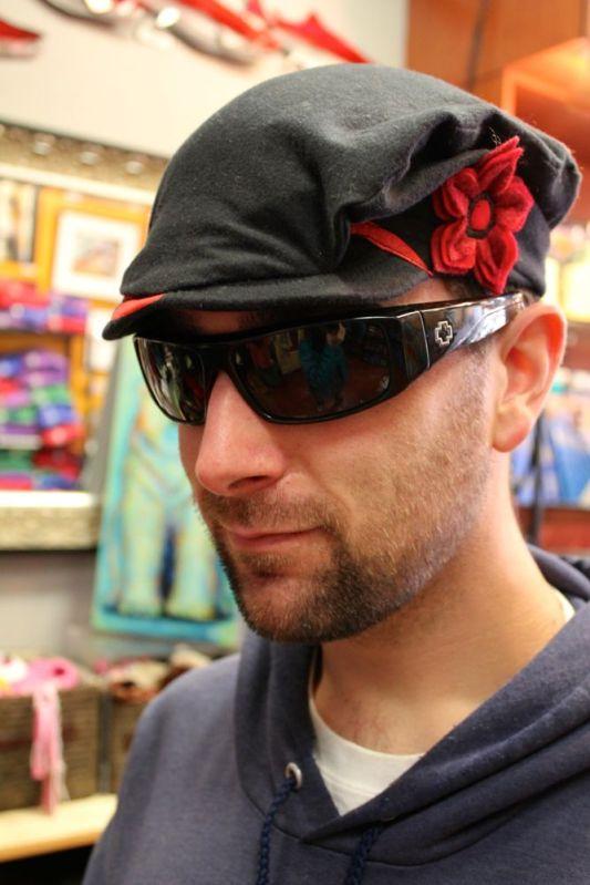Caleb hat shopping along State St.
