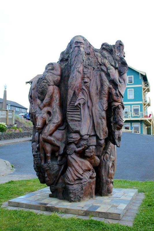Nye Beach Sculpture