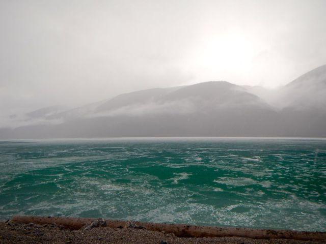 Muncho Lake - by Caleb