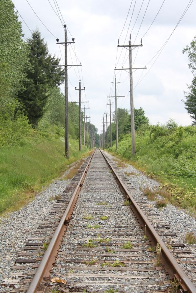 Colebrook Rd. train tracks, BC