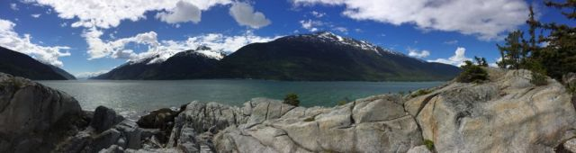 panorama of Yakutania Point