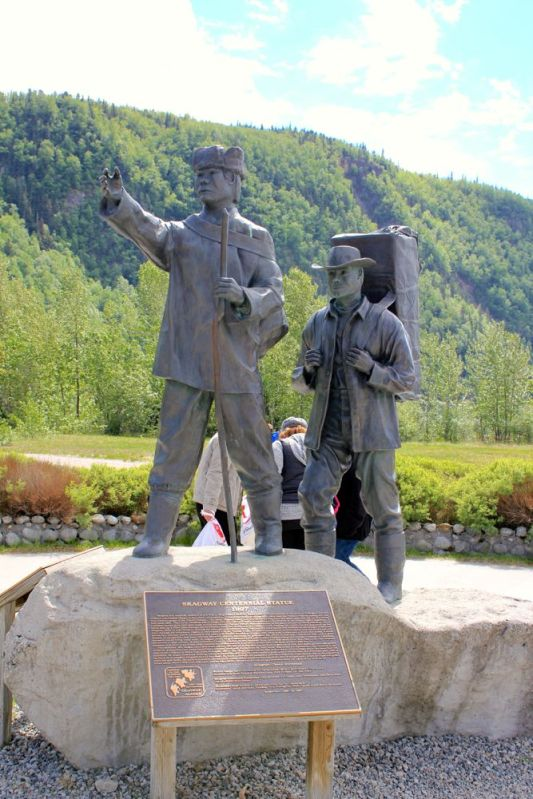 Skagway Centennial Statue 1897