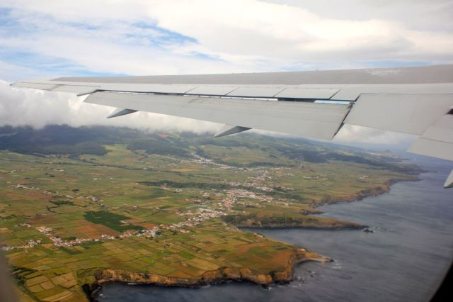 leaving Lajes