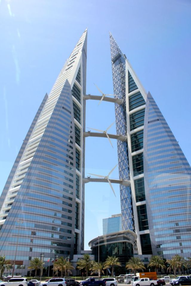 Bahrain World Trade Center - second tallest in the country