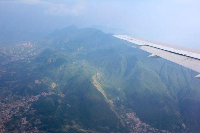 Mount Vesuvius, part of the Campanian volcanic arc
