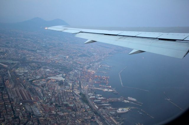 leaving Naples