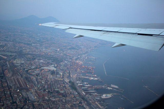 leaving Naples
